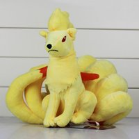 Poke Plush Toy Fox Ninetales Plush Doll Toys Stuffed Soft 23...