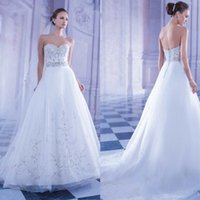 Beautiful A Line Wedding Dresses Sweetheart Ball Gowns Sexy ...