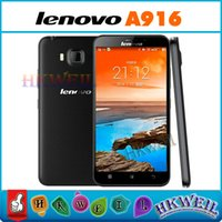 Original Lenovo A916 Octa Core LTE 4G MTK6592 Cell Phone 1GB...