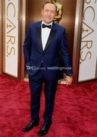 Custom Made Kevin Spacey Slim Fit Gentleman One Button Royal...