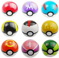 9 colors Pokeball Pocket Monsters pikachu balls Cosplay New ...