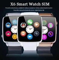 2015 New Bluetooth Smart Watch X6 For Apple iPhone Android S...