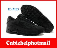 2015 new arrival mens cool black max 90 running shoes athlet...