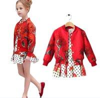 2015 Wlmonsoon Kids American Style Fashion Floral Polka Dot ...
