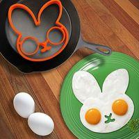 Egg Little Cute Rabbit Shaper Egg Mold Silicone Moulds Egg R...