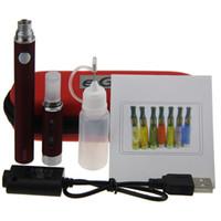 MT3 Evod Starter Kit Evod Batterie MT3 atomiseur E Cigarette Evod MT3 kit étui à fermeture éclair avec l'expédition eGo Case DHL gratuit
