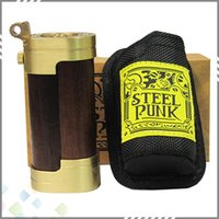 Steel Punk Slug Mod Mechanical Mod Fashion Design Brass & Co...