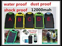 12000mah solar charger 12000 mah Waterproof Dustproof Dual U...