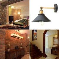 Luce della lampada E27 Loft industriale Vintage Edison parete Per la casa del riparo della parete L0604