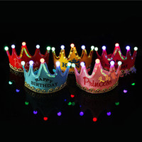 Freen shipping EMS Led Crown Children birthday Crown Princes...