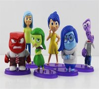 Inside Out PVC Figure Toys New Arrival 6pcs set Cartoon Movi...