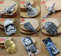 2016 Newest Star Wars Spaceship Logo Keychain Millennium Fal...
