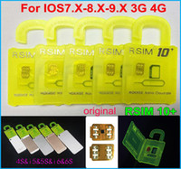 Original RSIM 10+ rsim 10 + R- sim 10+ thin unlock card for i...
