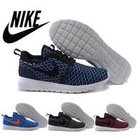Nike Roshe Run Flyknit 677243 Shoe Nike Running Shoes Mens A...
