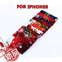 Christmas Series customized pattern phone cases PC plastic c...