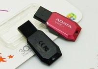 Para ADATA 64GB memoria Flash USB 2.0 mini-regalo conduce la impulsión del palillo palillos Pendrives Thumbdrive disco 60pcs / lot
