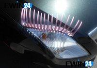Pink Cute Car Eyelash Automotive Eyelashes Eyeliner 3D Car L...
