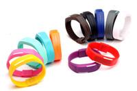 Bracelet Montre étanche écran lumineux LED Watch tactile numérique sport Rectangle montre bracelet en silicone Jelly Montre-bracelet