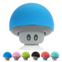 2016 Brand New Gadgets Colorful Mini Bluetooth Speaker Mushroom haut-parleurs 3.0 avec micro et Ventouse pour Wholesale Mobile Phone IP6S