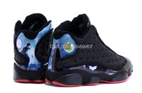 Wholesale Basketball Shoes Retro XIII 13 Black Shoes Cheap P...