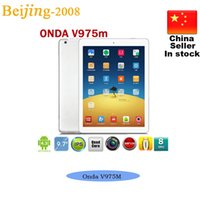 Onda V975M Bluetooth Quad Core Amlogic 2. 0GHz CPU 9. 7 inch I...