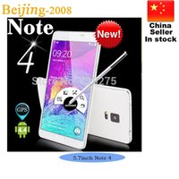 5. 7 Inch Note 4 N9100 G9800 Unlock phone MTK6582 Quad core 8...