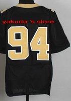 2015 New Player Black Elite Jersey, Wholesale Customized 2015...