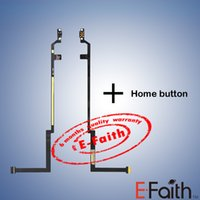 Vente en gros Flex câble ruban avec Home bouton retour connecteur pièce de rechange Accueil Flex Cable pour iPad Air iPad 5 livraison gratuite
