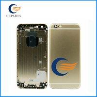 Bonne qualité Boîtier arrière Housse de protection pour APPLE IPhone 6 4.7 6Plus Remplacement Argent / Espace Gris / Or