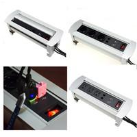 Manual Rotation Socket Electric for Desktop Socket Floor Soc...