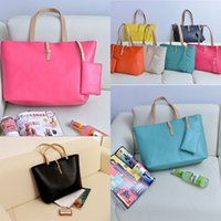 7 Candy Colors Fashion Women PU Leather Totes Bags Hot Satch...