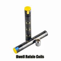 100% Original Uwell Rafale Remplacement Bobines SUS316 0,2 / 0.5ohm Ni200 0.1ohm pour Uwell Sub Ohm Rafale Réservoir