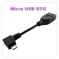 Adaptateur de câble hôte Micro USB OTG pour Samsung Galaxy S4 Note 2 8.0 S2 S3 Xoom i9100 MQ50