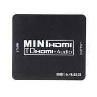 Mini Portatile HDV-M901 HDMI 1.4 a HDMI + Audio da 3,5 mm + Toslink Convertitore Ripetitore Audio Digitale Convertitore V917