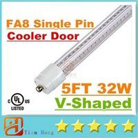 Super Bright 32W T8 Led Tube Light 1500mm 5FT Cooler Door V-...