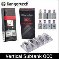 Верхнее качество Kanger Вертикальный субтанка OCC Coil клон kangertech Модернизированный 0,5 / 1.2ohm / 1.5ohm соответствуют Форсунки Kangertech субтанка Mini Nano Plus
