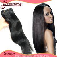 Clearance Sale!1B Color Off Black 100% Brazilian Hair Extens...