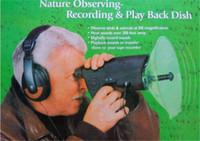 El vigilante bionic 100 del pájaro del espía del oído de la venta caliente mide la distancia sana con los mini observadores de pájaro del auricular de la calidad envío libre