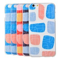 Stone Pattern Soft TPU back Case cover for iPhone 6 6G 4. 7&q...