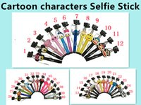 New arrival Extendable selfie Monopod Cable Selfie Stick + C...