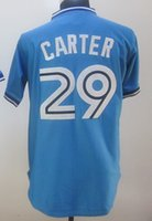 2015 new Blue Jays #29 Carter Blue Grey White Stitched Jerse...