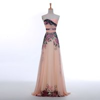In Stock High Quality Exquisite Modern Evening Dresses A Lin...