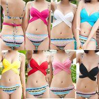 2015 Korean Fashion Bikini Swimwear with Crossing Bra 6- ways...