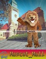 MALL116 Custom Lion Mascot Costume Cartoon Costumes For Chri...