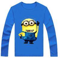 Despicable Me Children' s Long Sleeve T- Shirts Minions J...