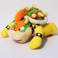 "Super Mario Bros plush toy 10"" BOWSER Plush Doll Figure..."