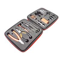 Kit d'outils maître de vapeur Rda Tools Rebuild Kits Copie haute Kuro Koiler v3 Coil Jig Kbag pour Vape RBA Atomizer Coils DHL