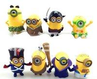Minions Movies Cartoon Figures Children Boys Girls Fashion D...