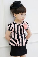 Dresses Kids 2015 Summer Kid' s Clothes Korean Cotton Sh...