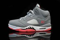Cheap 5 V Retro GG HOT LAVA Basketball Shoes JV GG Wolf Grey...